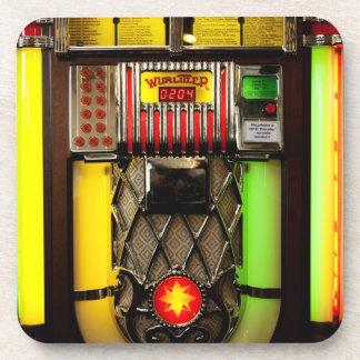 Old Jukebox Drink Coasters