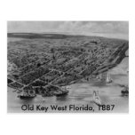 Old Key West Florida Post Card, 1887