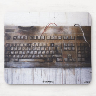 OLD KEYBOARD MOUSE PAD