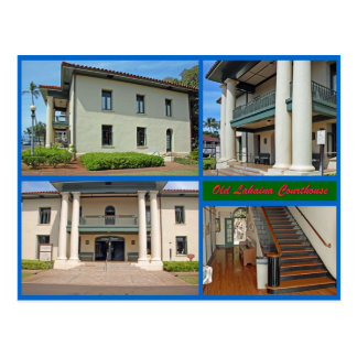 Old Lahaina Courthouse Postcard