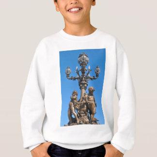 Old lamppost in Paris, France Sweatshirt