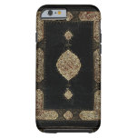 Old Leather And Fine Detail Gold Book Cover Tough iPhone 6 Case