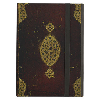 Old Leather And Gold Brown Original Book Cover iPad Air Case