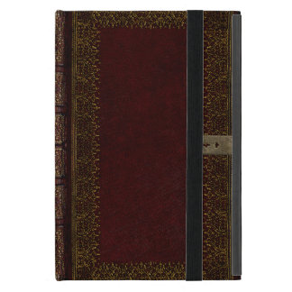 Old Leather And Lock Gilded Book Cover Cover For iPad Mini