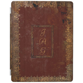 Old Leather Victorian Style Book Cover iPad Cover