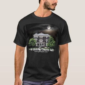 Old Licking County Jail haunted T-shirt
