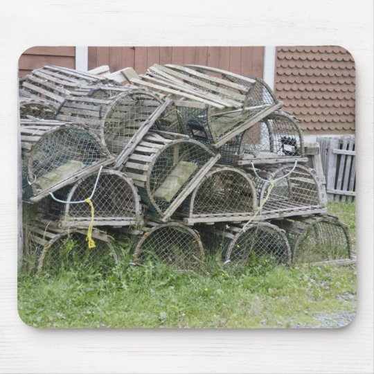 Old Lobster traps Mouse Mat