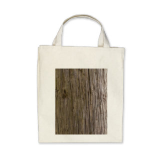 Old log texture bags