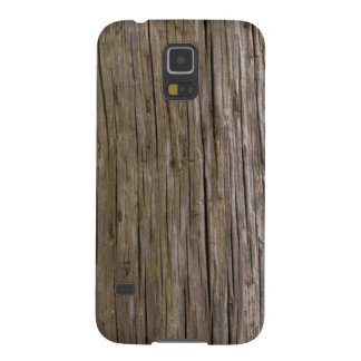 Old log texture case for galaxy s5