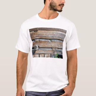 Old Log Wall 2 T-Shirt