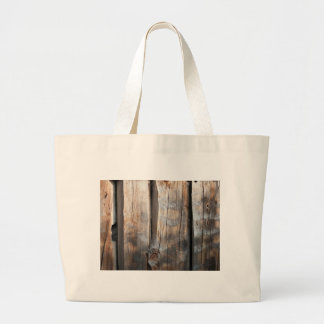 Old Log Wall 3 Canvas Bags