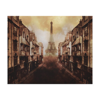 Old London Art Stretched Canvas Prints