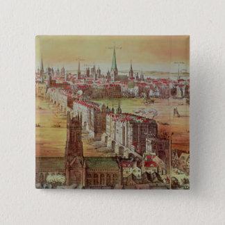 Old London Bridge 15 Cm Square Badge