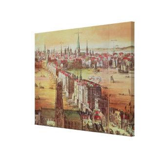 Old London Bridge Canvas Print
