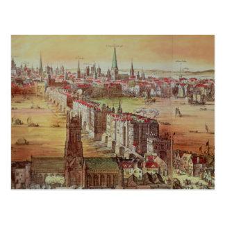 Old London Bridge Postcard