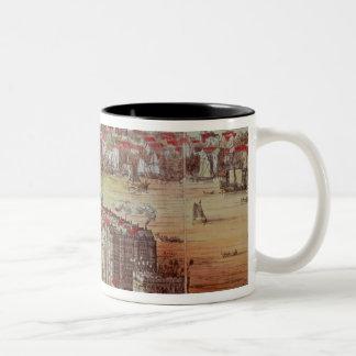 Old London Bridge Two-Tone Coffee Mug