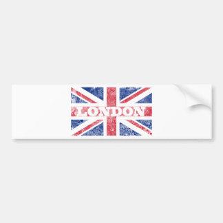 Old London flag Bumper Sticker