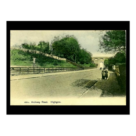 Old London Postcard - Archway Road, Highgate