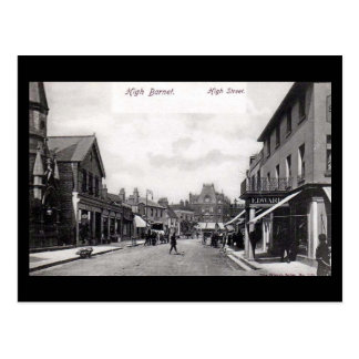 Old London Postcard - High St, High Barnet