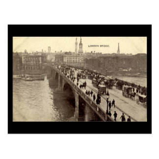 Old London Postcard - London Bridge
