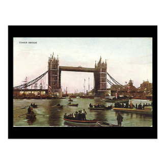 Old London Postcard - Tower Bridge