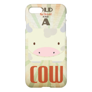 Old MacDonald had a Cow iPhone 7 Case