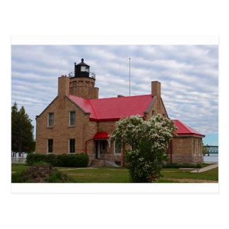 Old Mackinac Point Lighthouse Postcard