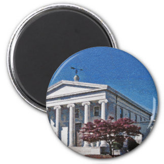Old Madison County Courthouse Refrigerator Magnet