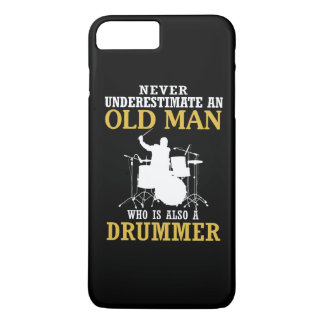 Old Man - A Drummer iPhone 8 Plus/7 Plus Case