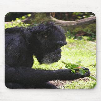 Old Man Chimp Mousepad