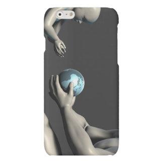 Old Man Giving Earth to a Child as a Conservation iPhone 6 Plus Case