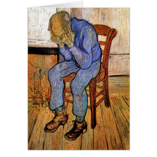 Old Man in Sorrow by Vincent van Gogh 1890 Card