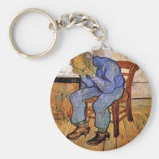 Old Man in Sorrow by Vincent van Gogh 1890 Key Ring