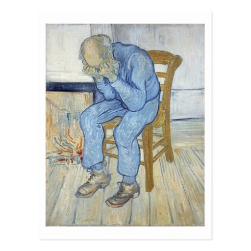 Old Man in Sorrow (On the Threshold of Eternity) 1 Post Card