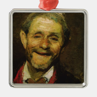 Old Man Laughing, 1881 Christmas Ornament