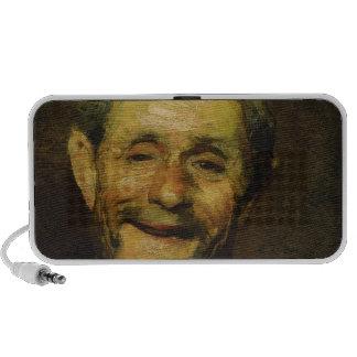 Old Man Laughing, 1881 Travelling Speaker