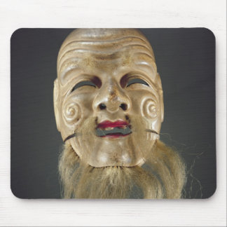 Old Man Mask, Noh Theatre Mouse Mat