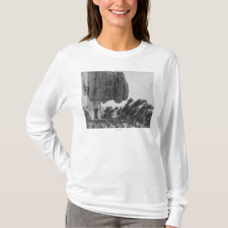 """Old Man"" of the Park Near Sundance Photograph T-Shirt"