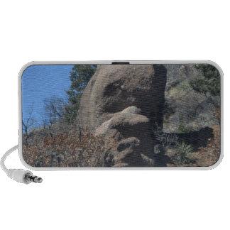 Old man rock notebook speakers