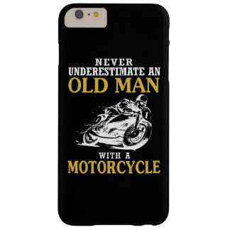 OLD MAN WITH A MOTORCYCLE BARELY THERE iPhone 6 PLUS CASE