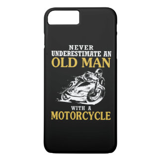 OLD MAN WITH A MOTORCYCLE iPhone 8 PLUS/7 PLUS CASE