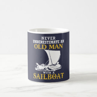 Old Man With A Sailboat Coffee Mug