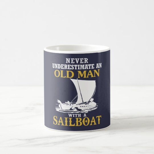 Old Man With A Sailboat Coffee Mug