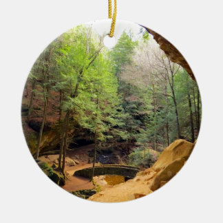 Old Man's Cave Christmas Ornament