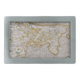 Old map belt buckles