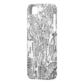 Old map from tsar Russia iPhone 5 Case