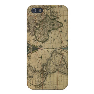 Old Map Globe Case For The iPhone 5