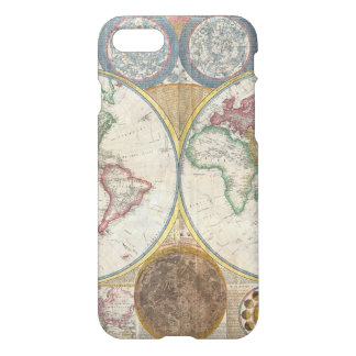 Old Map of the World iPhone 8/7 Case