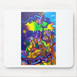 Old Masterpiece by Piliero Mouse Pad