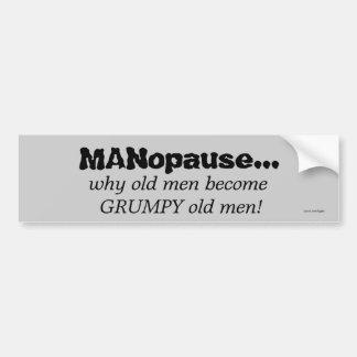 Old Men Bumper Sticker